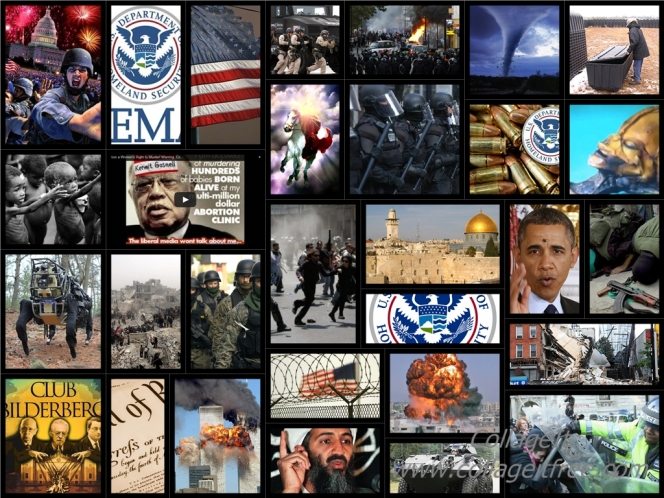 End Time Bible Prophecy Collage Photo