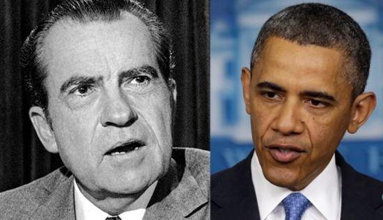 Nixon Obama