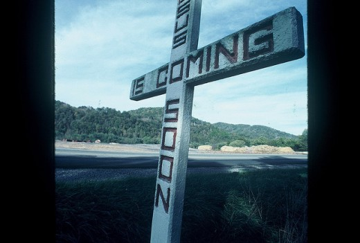 Jesus is coming soon cross