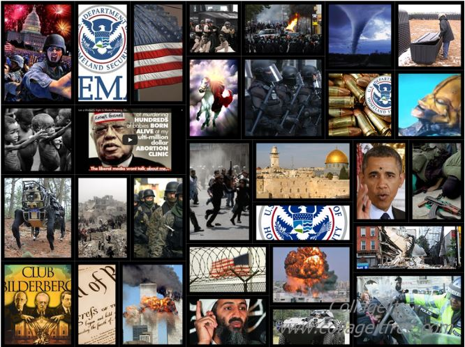 End Time Bible Prophecy home page collage