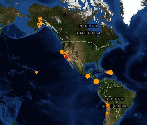 earthquake swarms America 27 October 2013