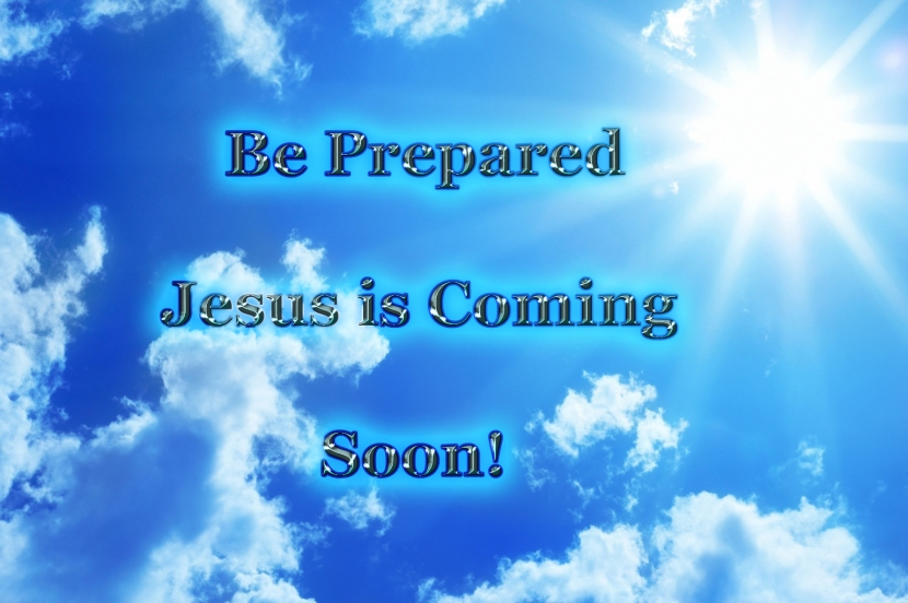 Jesus is coming be prepared copy
