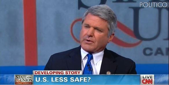 Homeland security McCaul