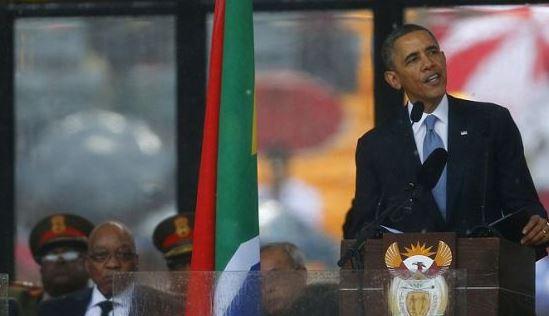 Obama Mandela Hypocrasy