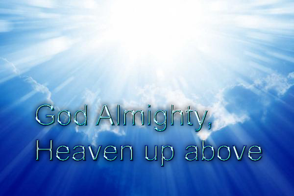 God Almighty copy