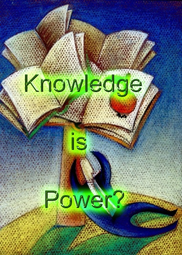 knowledge is power copy
