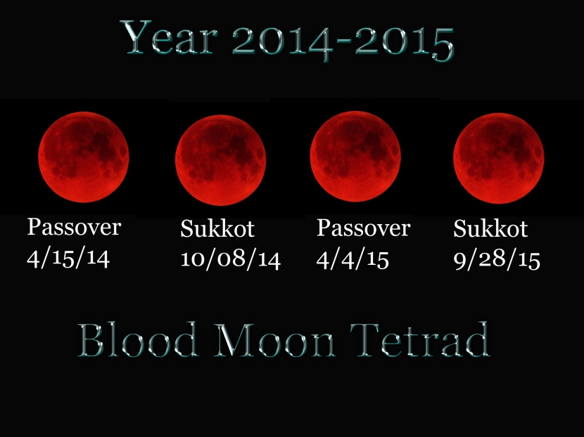 four blood moons prophecy - photo #1