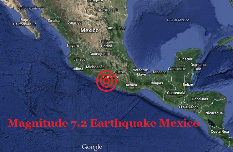 Earthquake Mexico 18 April 2014