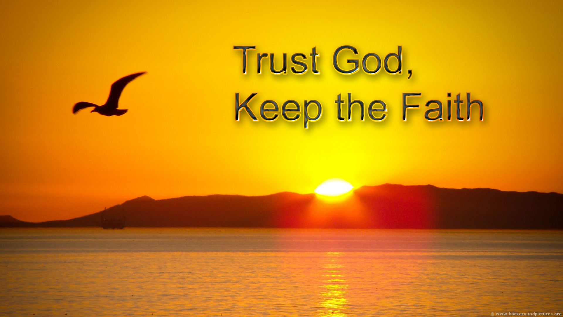 Trust God with All Your Heart