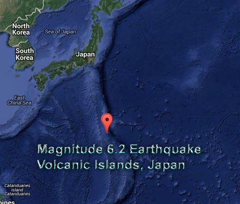 Volcano Island Japan