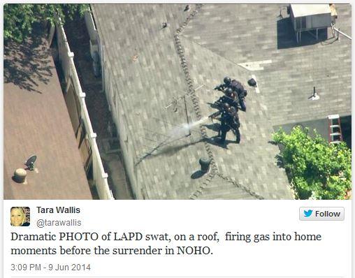 LA Swat chase terror suspect
