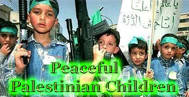 Peaceful Palestinian children copy