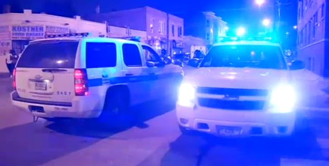 Chicago shootings 25 August 2014 clip from CBS video