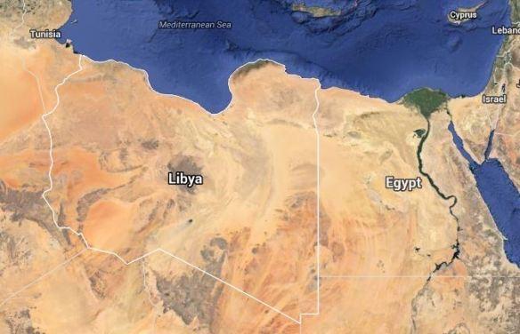 Libya google maps