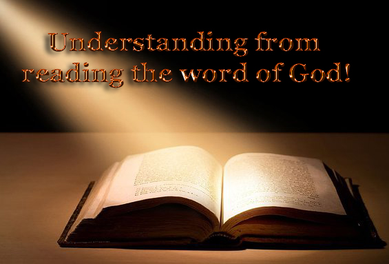 understanding from reading the word of God copy