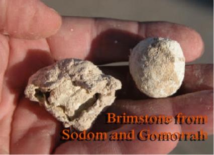 Brimstone from Sodom and Gomorrah copy