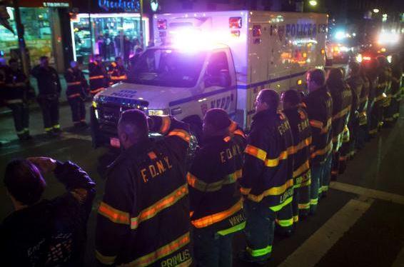 New York City police officers slain