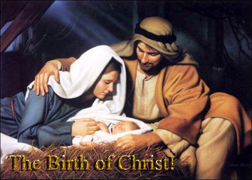 the birth of Christ copy