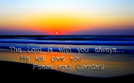 peace and comfort from God copy
