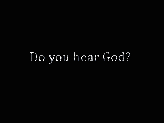 Image result for how to hear god speak