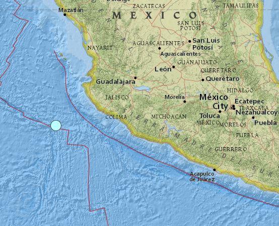 earthquakes Mexico 6.7  6.3   22 February 2015