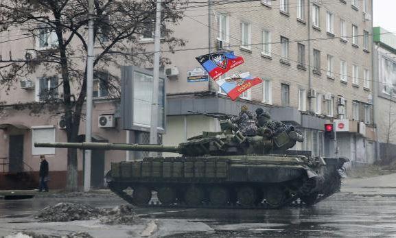 Ukraine Donetsk, Russia war 1 February 2015