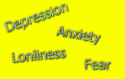 depression anxiety lonliness fear