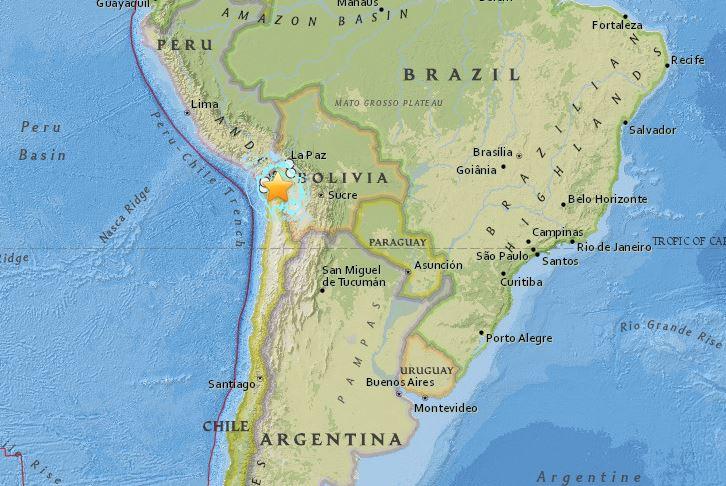 earthquake chile 6.4 23 March 2015
