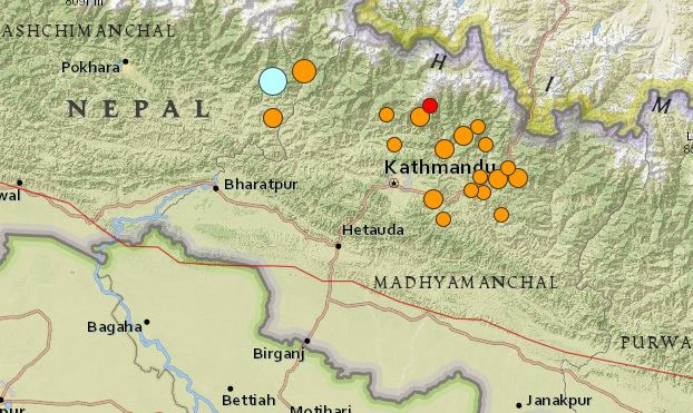 the april 2015 nepal earthquake Key messages • a devastating earthquake struck in nepal on 25 april 2015  followed by several strong aftershocks and another massive earthquake on 12  may.