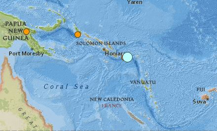 earthquake Solomon Islands magnitude 6.8 20 May 2015