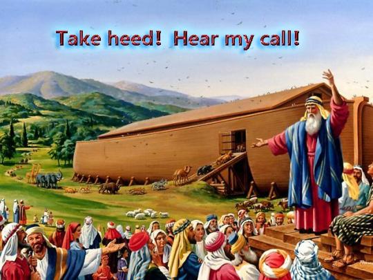 Noah preaching copy