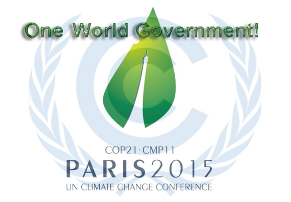 Climate change one world government