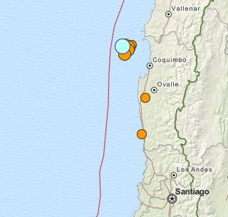 earthquake Chile 11 November 2015