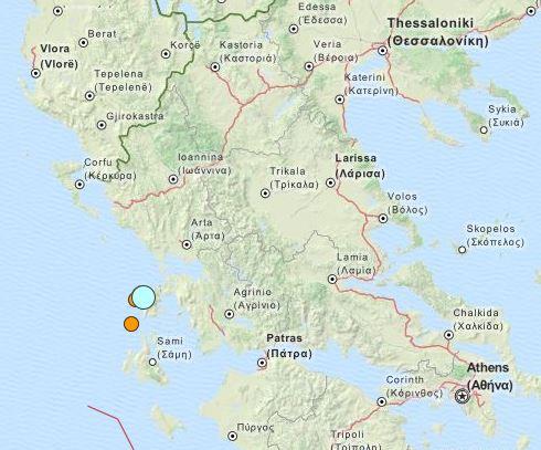 earthquake Greece 17 Nov 2015