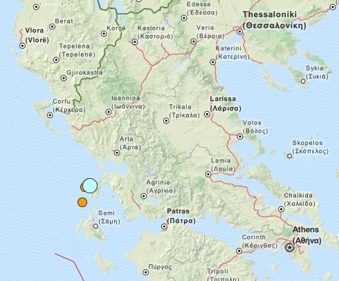 earthquake Greece 17 Nov 2015