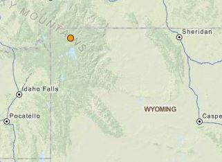 earthquake Old Faithful Geyser, Wyoming November 24 2015