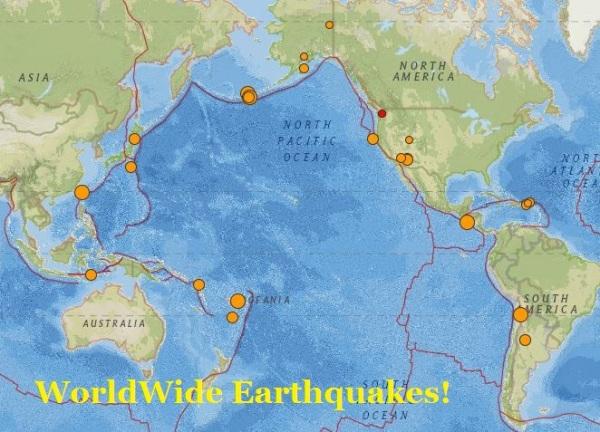 earthquakes worldwide 2 Nov 2015