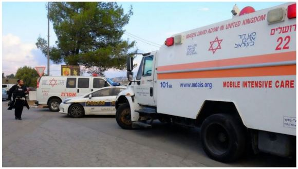 Israelis injured in car ramming attack Nov 1 2015