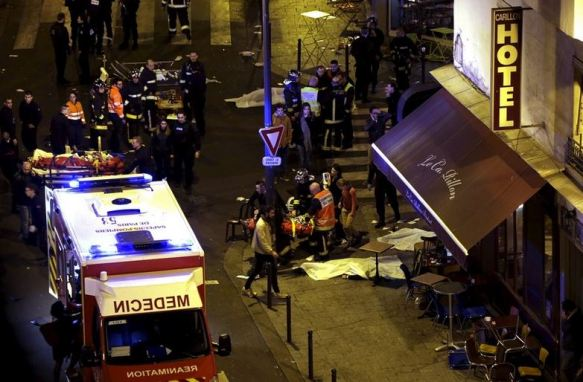 Paris ISIS terror attack 13 November 2015