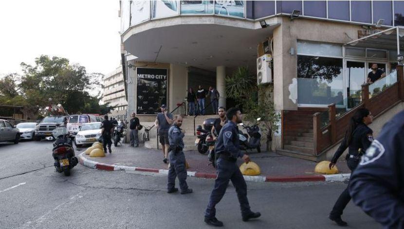 Tel Aviv stabbing attack 19 November 2015