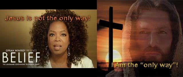 Opray Winfrey Jesus Christ