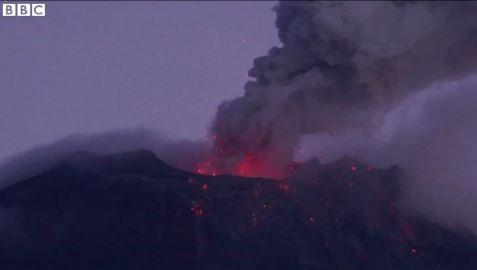Volcanic eruption Ecuador 3 March 2016
