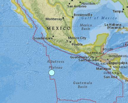 earthquake Mexico April 29 2016