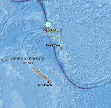 earthquake Vanuatu magnitude 6.0 April 14 2016
