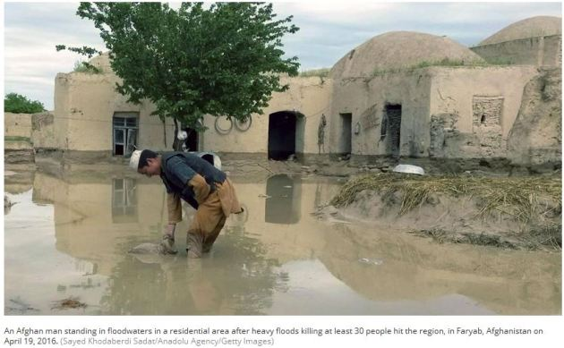 Flooding Afghanistan April 19 2016