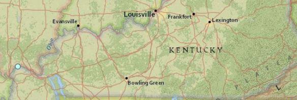 earthquake Kentucky May 1 2016