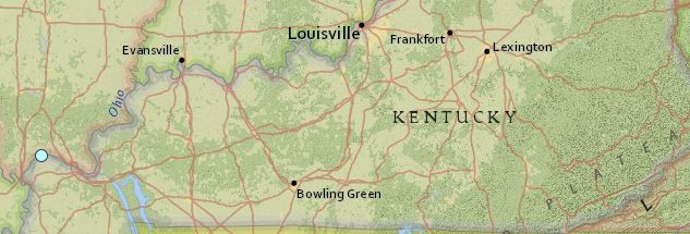 earthquake Kentucky May 1 2016