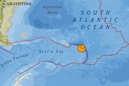 earthquake South of Argentina magnitude 7.2 May 28 2016