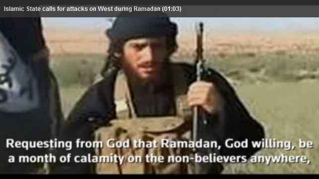 Islamic State calling for killings in America and Europe during Ramadan
