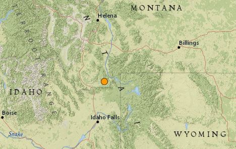 earthquake close to Yellowstone WY June 13 2016